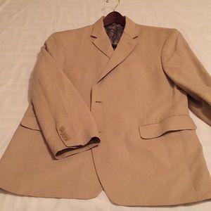 Ralph Lauren linen sport coat - tan 42S